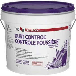 CGC DRYWALL COMPOUND READY MIXED DUST CONTROL 12L PAIL-0